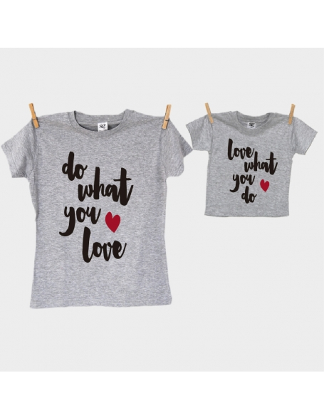 Camisetas iguales papa e hijo/a Do that you want